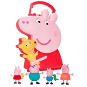 Peppa Pig Figure Carry Case with 4 Figures