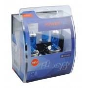 Powertec Xenon Blue H4 12V халогенни крушки к-т
