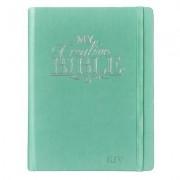 My Creative Bible KJV: Aqua Hardcover Bible