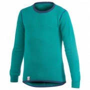 Woolpower - Kids Crewneck 200 - Sous-vêtement mérinos taille 110/116 - Years 5/6, turquoise
