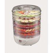 Deshidrator legume si fructe Gorenje FDK 24 DW, 240W, Afisaj LED, 5 tavi pentru uscare, Temperatura 35° - 70°, H 31 cm, Alb