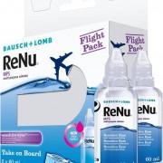 Bausch & Lomb Renu Multi-Purpose Solution Flight Pack 2x 60ml