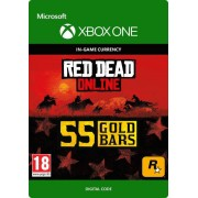 RED DEAD REDEMPTION 2 ONLINE 55 GOLD BARS (XBOX ONE) - XBOX LIVE - MULTILANGUAGE - WORLDWIDE - XBOX