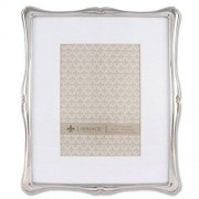 Lawrence Frames 710280 Silver Metal Romance Picture Frame, 8 by 10 Inch Matted, 5 by 7 Inch