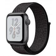 Watch, Apple Nike+ Series 4 GPS, 40mm Space Grey Aluminium Case with Black Nike Sport Loop (MU7G2WB/A)