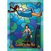 208 Pieces Laputa: Castle in the Sky (Mysterious light) Art Crystal Jigsaw (18.2x25.7cm)