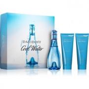 Davidoff Cool Water Woman lote de regalo XVI. eau de toilette 100 ml + leche corporal 75 ml + gel de ducha 75 ml