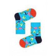 Happy Socks KIDS - Banaan - blauw multi - Unisex - 2-3 jaar