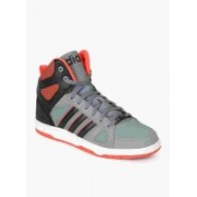 ADIDAS NEO HOOPS TEAM MID Mid Ankle Sneakers For Men(Grey)