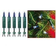 Kék 100db-os karácsonyfafüzér