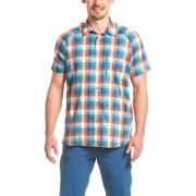 Maier Sports Halos t-shirt Heren oranje/blauw 50 2017 Overhemden korte mouw