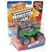 2012 Hot Wheels 30TH Anniversary 1:64 Scale Grave Digger Monster Jam Truck With Exclusive 30TH ANNV. Grave Digger Poster