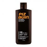 PIZ BUIN Allergy Sun Sensitive Skin Lotion crema solare per pelli sensibili waterproof SPF15 200 ml unisex