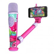 DreamWorks Trolls Record Your Voice Create Music Videos with Selfie Star Video Recording Microphone by eKids