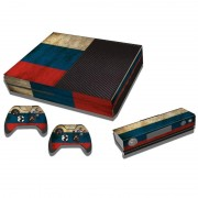 MicroSoft Russian Vlag patroon Stickers voor Xbox One Game Console