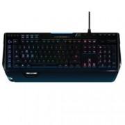 Клавиатура Logitech G910 Orion Spectrum, Гейминг, Integrated ARX Control, Intelligent RGB Illumination, черна, USB
