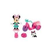 Mickey Mouse Clubhouse Minnie no Passeio de Bicicleta Y3482 - Mattel
