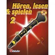 De Haske Hören,Lesen&Spielen Bd. 2 für Boehm Klarinette Lehrbuch