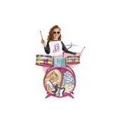 Bateria Infantil - Barbie Glamourosa - Fun