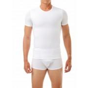 Underworks Shapewear Microfibre Concealer Compression Short Sleeved T Shirt White 998100