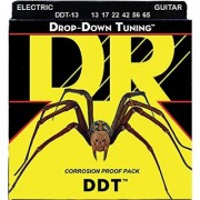 DR Strings DDT-13 Nickel Plated Electric Guitar Strings Custom