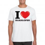 Shoppartners I love hardlopen t-shirt wit heren