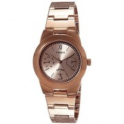 Timex Quartz Brown Round Women Watch TW000J106