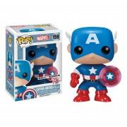 Funko Pop Captain America Proton Shield Kohls Sticker Exclusive