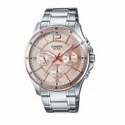 Casio MTP-1374D-9AVDF reloj analogico - plata / oro (sin caja)