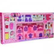 Къща за мини кукли с мебели, 505117603