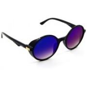 ELS Oval Sunglasses(Blue, Pink)