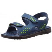 Puma Men's Faas sandal Ind. Dark Denim-Macaw Green Athletic and Outdoor Sandals - 8 UK/India (42 EU)