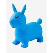 VERTBAUDET Coelho saltitante azul claro liso com motivo