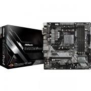 Asrock B450M Pro4 Amd Socket AM4 Micro Atx Vga/dvi-d/hdmi DDR4 Usb C 3