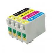 """""""Conjunto 4 Tinteiros Epson 16 XL - ref. T1631/2/3/4 (T1635)"""""""
