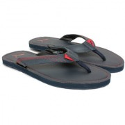 Puma Men's Red and Blue Flip Flops