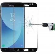 Para Samsung Galaxy J7 Pro 0.3mm 9h La Dureza De La Superficie 3D Pantalla De Seda De Vidrio Templado Curvo De Plena Pantalla Protector De Pantalla (negro)