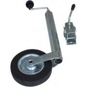Conjunto: Rueda jockey (rueda de apoyo) ST 48-200 VB con abrazadera 48 mm