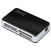 Card Reader Digitus DA-70322-1, All in one, USB 2.0 (Negru)