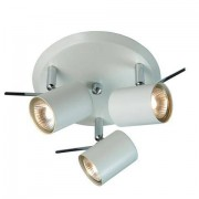 Markslöjd Hyssna takrondell 3 LED spotlights vit GU10