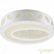 Plafonier LED elegant diam.40cm, cristale K5, VANILLA I 49345 GL