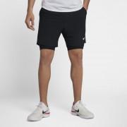 Short de tennis NikeCourt Flex Ace 18 cm pour Homme - Noir