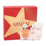 Giorgio Armani Emporio Armani In Love With You confezione regalo eau de parfum 50 ml + eau de parfum 15 ml + crema mani 50 ml donna