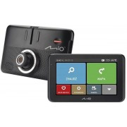 "Sistem de Navigatie + Camera video integrata Mio MiVue Drive 55 LM, Capacitive Touchscreen LCD 5"", Procesor 800 MHz, Filmare ExtremeHD 1296p, TMC, Microsoft Windows CE 6.0, Actualizari pe viata a hartilor, Harta Full Europa"
