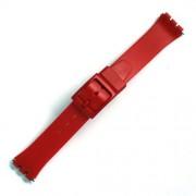 Curea ceas tip Swatch din plastic nr. 208 [17-SW35]