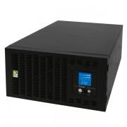 CyberPower PR6000ELCDRTXL5U :: Професионален RackMount UPS с LCD дисплей, 6000VA, 5U, поставка и RM релси