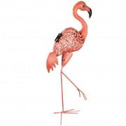 Luxform Solárne LED Deco záhradné svetlo Flamingo ružové 30111
