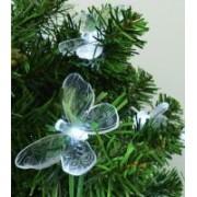 Home dekoráció izzósorhoz, pillangó, 20 db-os (DECO 3)