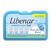 Aspirador nasal para bebés e crianças, 1 aspirador + 3 recargas - Libenar