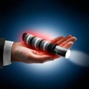 Heiz-Pod Taschenwärmer, 3-in-1-Handwärmer, Taschenlampe und Powerbank, Aluminium-Gehäuse